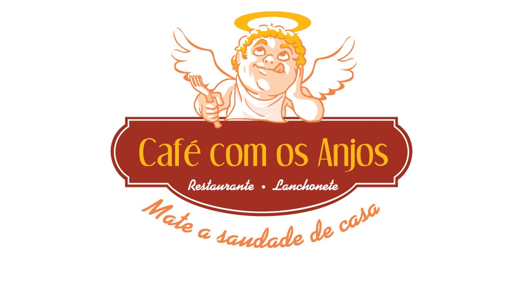Logo Café com os Anjos