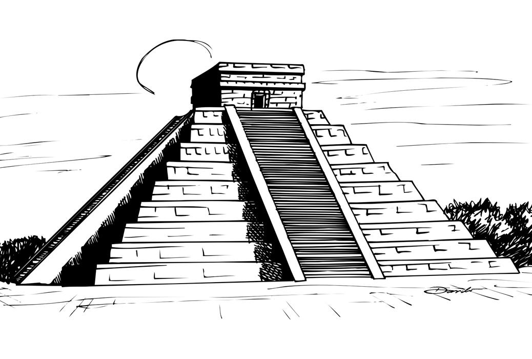 Chichén Itzá, by Danilo Aroeira