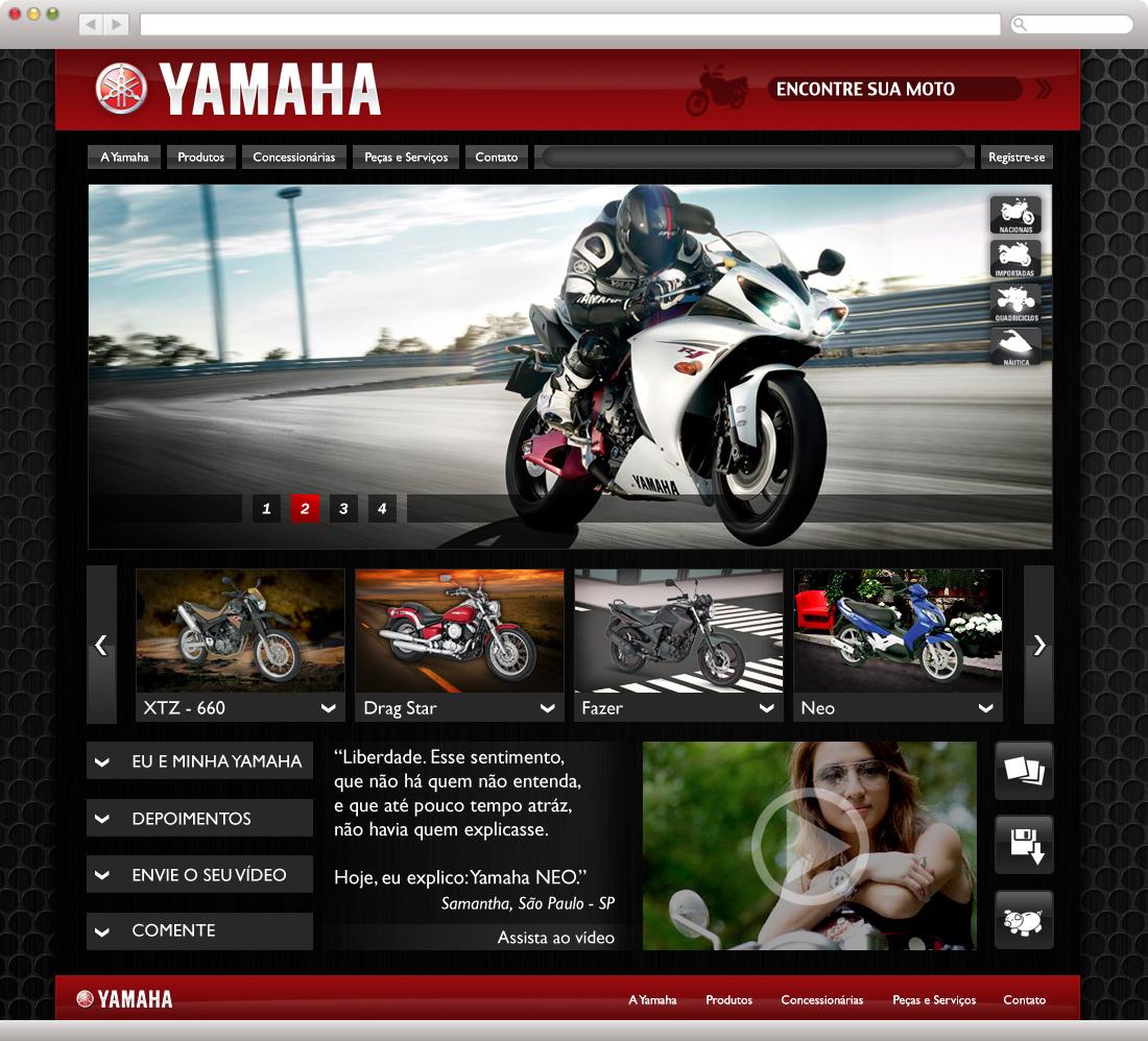 Yamaha - Nova proposta de Layout