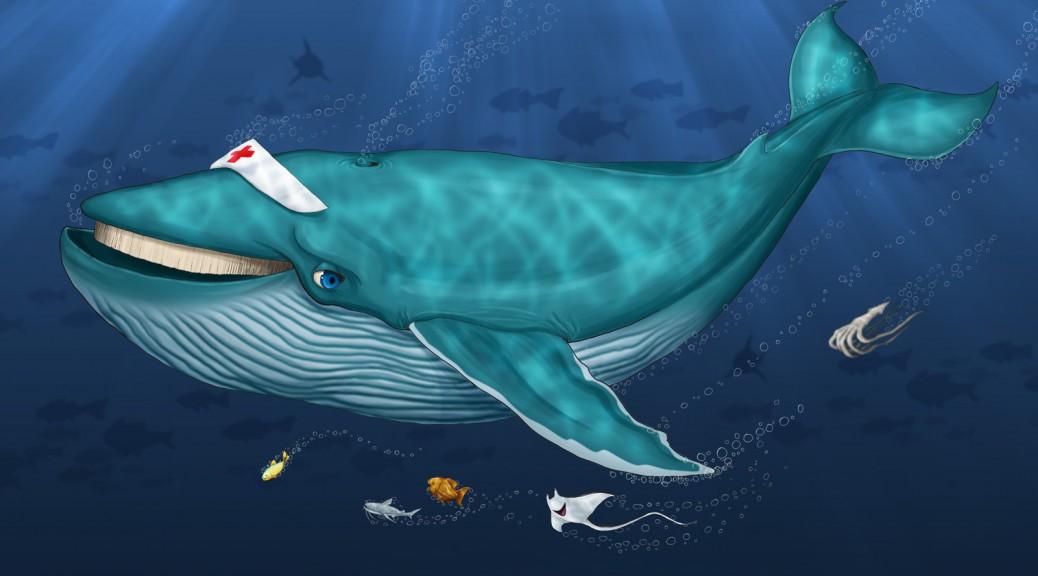 Baleia e Peixinhos do Fundo do Mar by Danilo Aroeira