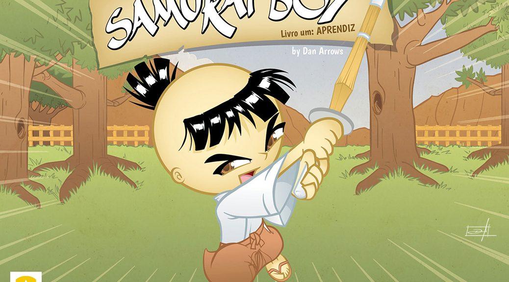 Capa Samurai Boy: Aprendiz