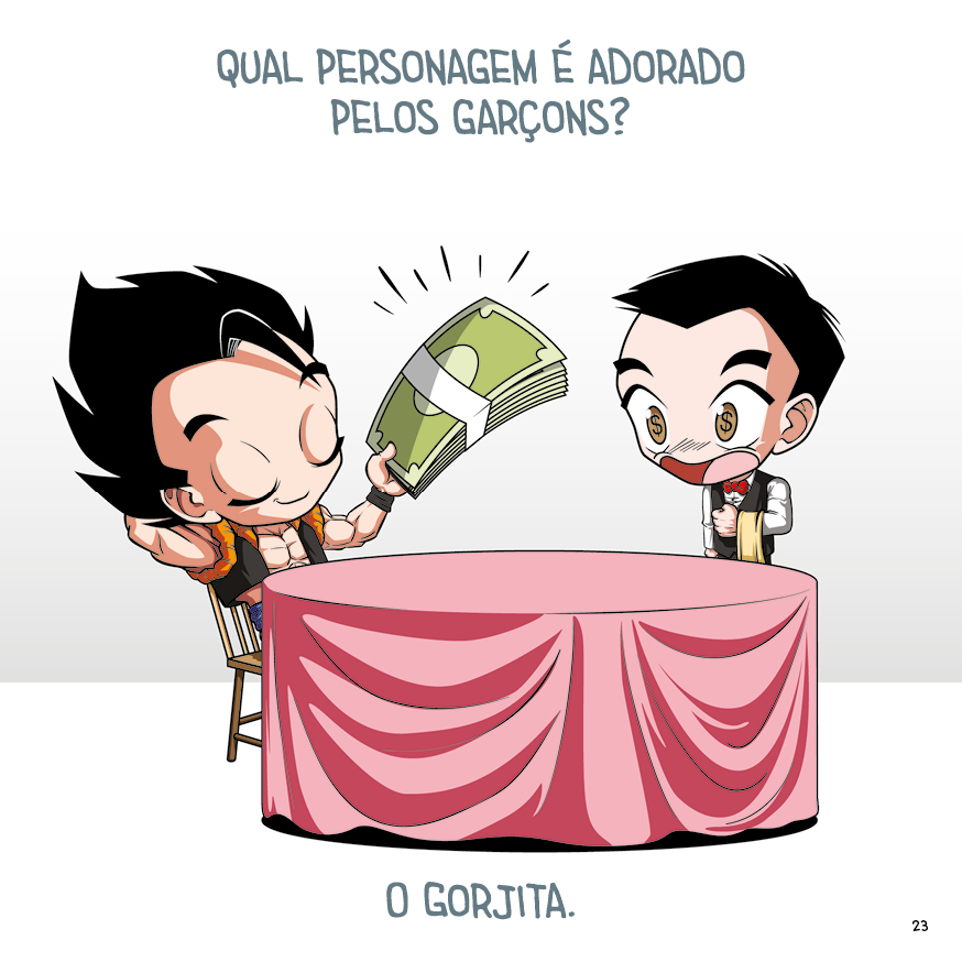 Trocadilhos DB - p.21 - arte by Dan Arrows