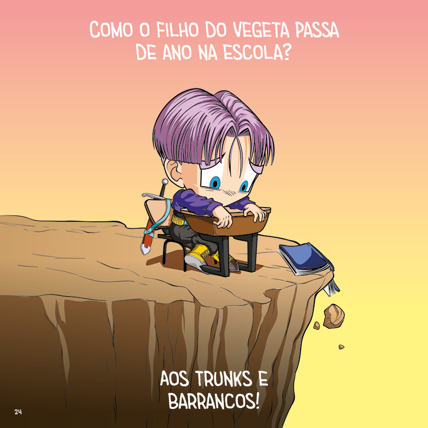 Trocadilhos DB - p.24 - arte by Dan Arrows