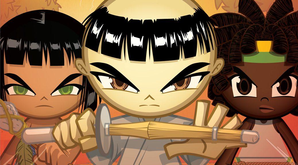 capa Samurai Boy - operação faísca